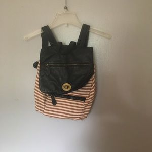 SALE Stripped Backpack